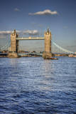 London Tower Bridge Summer Blue Sky Day Posters by  Veneratio