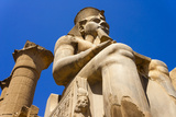 Statue of Ramses Ii, Luxor, Thebes Photographic Print by Nico Tondini