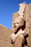 Statue of Amun Ra at Karnak Temple, Luxor Photographic Print by Joe & Clair Carnegie / Libyan Soup