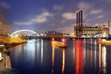 Providence River in Providence, Rhode Island Photographic Print by  SeanPavonePhoto