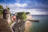 San Juan, Puerto Rico Coast. Photographic Print by  SeanPavonePhoto