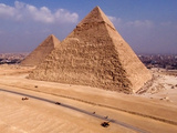 Great Pyramids of Giza, Egypt Photographic Print by Evan Reinheimer