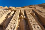 Temple of Hathor, Abu Simbel, Egypt Photographic Print by Nico Tondini