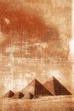 Pyramids at Sunrise. Photographic Print by Grant Faint