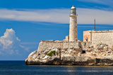 The Famous Fortress and Lighthouse of El Morro in the Entrance of Havana Bay, Cuba Photographic Print by  Kamira