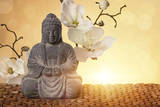 Buddha in Meditation, Religious Concept Photographic Print by  egal