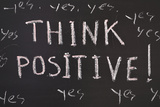 Think Positive Photographic Print by Yury Zap