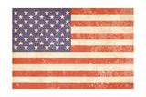 Vintage American Flag Prints by Alisa Foytik
