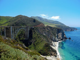 Bixby Creek Bridge Photographic Print by Felipe Borges