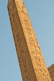 Monolith in Luxor Temple, Egypt Photographic Print by  Asier