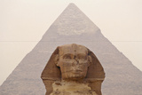 Pyramid of Khafre and Sphinx, Egypt Photographic Print by Rob Henderson