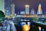 Downtown Providence, Rhode Island, Usa. Photographic Print by  SeanPavonePhoto