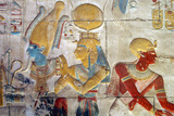 Osiris and Isis, Abydos. Photographic Print by Joe & Clair Carnegie / Libyan Soup