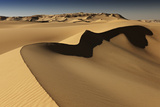 Desert Landscape, Sand Dunes, Western Desert,Egypt Photographic Print by Juergen Ritterbach