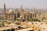 The Mosque of Sultan Hassan and the Mosque of Ar-Rifai Seen from the Citadel, Cairo, Egypt, North A Photographic Print by Andrea Thompson Photography