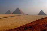 Road to Great Pyramids Photographic Print by Bijan Choudhury