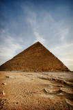 Great Pyramid of Giza Photographic Print by Christopher Chan