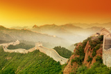Great Wall of China at Sunrise. Photographic Print by Liang Zhang