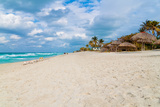 The Cuban Beach of Varadero on a Beautiful Day Photographic Print by  Kamira