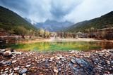 Blue Moon Valley at Lijiang, China Photographic Print by Liang Zhang