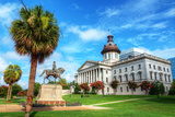 The South Carolina State House in Columbia. Photographic Print by  SeanPavonePhoto