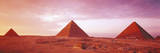 Pyramids at Dusk, Giza Plateau Photographic Print by Brian Lawrence