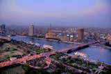 Dusk in Cairo (Hdr) Photographic Print by Christopher S. Rose