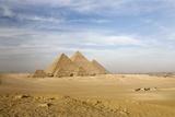The Pyramids, Giza, Cairo, Egypt Photographic Print by Design Pics/Deddeda
