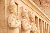 Statues in Hatshepsut Temple near Luxor, Egypt Photographic Print by  Asier