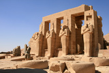 Osirid Statues at the Ramesseum. Photographic Print by Joe & Clair Carnegie / Libyan Soup