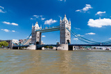 Tower Bridge in London in a Beautiful Summer Day Photographic Print by  Kamira