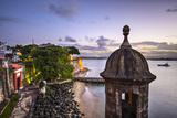 San Juan, Puerto Rico Coast at Paseo De La Princesa. Photographic Print by  SeanPavonePhoto