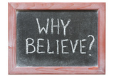 Why Believe Posters by Yury Zap