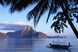 Cadlao Island from El Nido, Sunrise. Photographic Print by Dallas Stribley