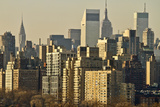 Usa, New York, New York City, Manhattan, Skyline at Dawn Photographic Print by  Fotog