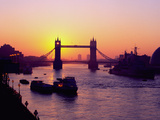 Tower Bridge at Sunrise, London Photographic Print by Charles Bowman