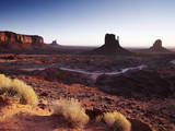 The Mittens Monument Valley, Sunrise Photographic Print by Gary Yeowell