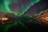 Arctic Nightsky Photographic Print by John Hemmingsen