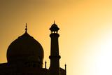 Taj Mahal at Sunset Photographic Print by Kokkai Ng