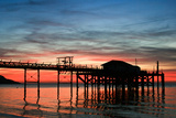 Memories of Totland Pier Photographic Print by s0ulsurfing - Jason Swain
