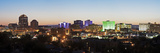 Usa, New Mexico, Albuquerque, Panoramic Cityscape at Dusk Photographic Print by Henryk Sadura