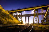 Benicia Tracks Photographic Print by Hal Bergman Photography