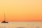 Sunset Cruise at Cape Town Photographic Print by Tony Hawthorne