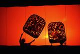 Shadow Puppets. Fotografisk tryk af Antony Giblin