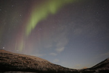 Red Green Aurora Borealis Northern Lights, Norway Photographic Print by Joe Fox