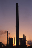 Sundown Benxi Steelworks Photographic Print by Till Mosler