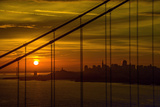Golden Gate Sunrise Photographic Print by Noppawat Tom Charoensinphon