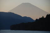 Mt. Fuji in Silhouette Photographic Print by  Gregor