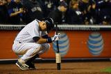 Sep 25, 2014, Baltimore Orioles vs NY Yankees - Derek Jeter's Last Home Game at Yankee Stadium Fotografisk trykk av Al Bello