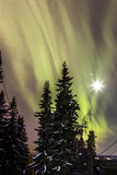 Northern Lights (Aurora Borealis) Finla Photographic Print by Asad Malik Photography
